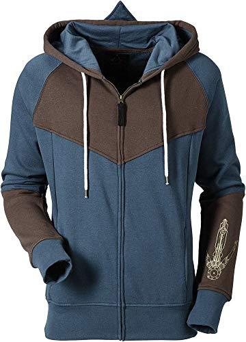 Assassin's Creed Unity - Logo - Zipper | Ubisoft Offizielles Merchandise, Größe:M