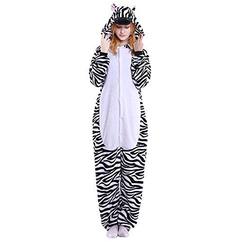 LSERVER Disfraz Cosplay Adultos Traje Unisexo Pijama