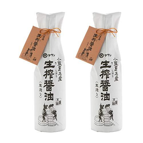 [タケサン] 醤油 天然醸造 生搾醤油 720ml×2本 小豆島名産 ×2本