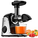 Masticating Juicer, Sboly Juicer Machines Easy to Clean with Brush, Cold Press Juicer with 2 Speed...