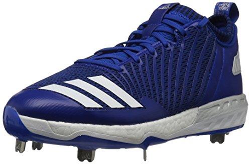 Adidas Herren Freak X Carbon Mid Baseball Schuh (Renewed), Blau (Collegiate Royal/White/Metallic Silver), 46 EU