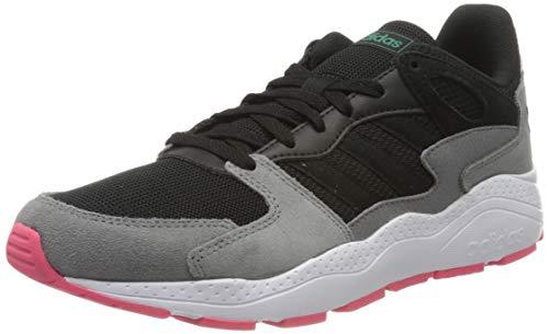 adidas Crazychaos, Women's Running Shoe, Core Black/Core Black/Real Pink S18, 4 UK (36 2/3 EU)