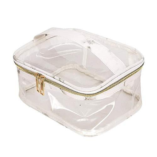Mode Marbre Imprimer PVC Transparent De Stockage Sac Cosmétique Effacer Éclaboussure Preuve Cosmétique Sac Trousse De Toilette pour Femmes Dames