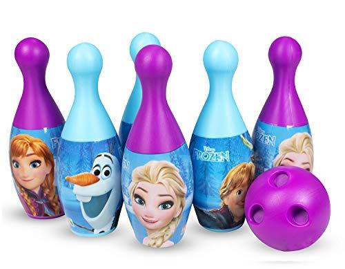 Disney Plastic Bowling Set - Frozen, Multi Color