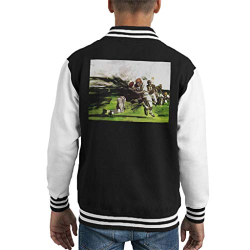 The Saturday Evening Post American Football Tackle Kid's Varsity Jacket