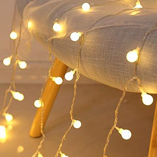 Kirschkugel LED Märchen Lichterketten Hochzeit Weihnachtskranz Dekoration...