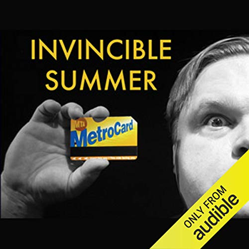 Invincible Summer audiobook cover art