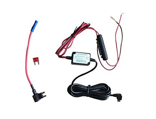 Dash Camera Kit de cable duro con micro USB Direct Hardwire Cargador de cable Kit para HD PRO y Micro USB Dashboard Camera Fuente de alimentación Cargador de coche GPS Car DVR Power Box (Angel Kit Mic