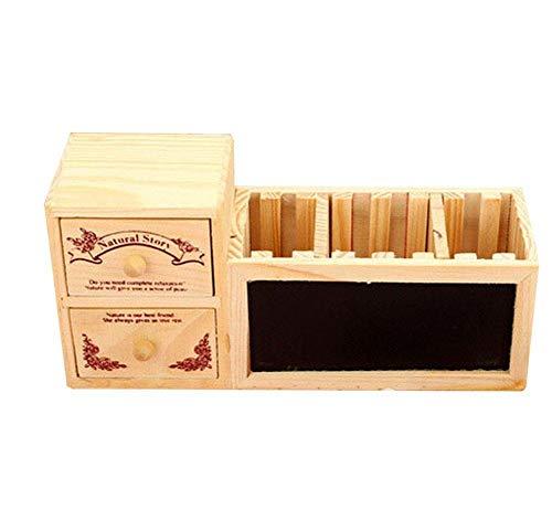 Depory - Portalapices con compartimentos, organizador de escritorio, para la escuela, oficina, suministros de almacenamiento, 1 unidad