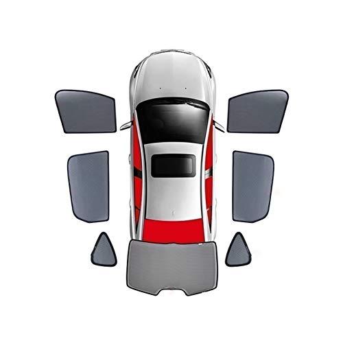 BNMH para Toyota Prado-LC120 / LC150 Camry Reiz/Mark Rumion / 2016-2020 Cortina Magnética Especial para Ventana Parasoles De Malla Persiana Totalmente Cubierta