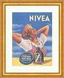 Kunstdruck Nivea Creme Werbung aus Rumänien Schönheit
