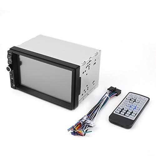 #N/V 7001B reproductor multimedia universal con tarjeta y radio de 7 pulgadas de pantalla dual DIN para coche coche MP5 HD