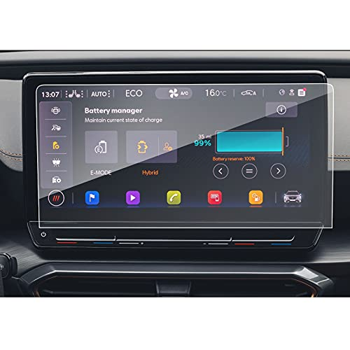 SXCY Protector de pantalla de cristal templado para Seat Cupra Formentor 2021...