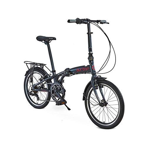 Bicicleta Sampa Pro Dobravel, Aro 20, 7 velocidades, Durban, Azul