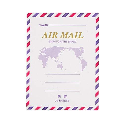 マルアイ 藤壺 エアメール便箋ミニ 横罫 FM‐H226 30枚入