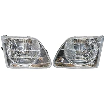 Amazon Com Ford F150 Replacement Headlight Assembly 1 Pair Automotive