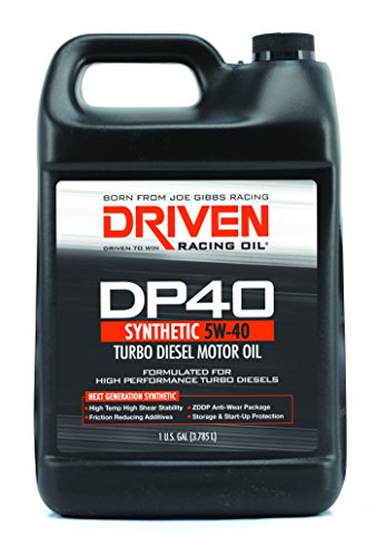 Driven Racing Oil 02508 DP40 High Zinc Synthetic Diesel Oil (5w-40 Gallon Jug), 1 gallon