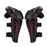 Knee Pad, para los jóvenes/Adultos, a Prueba de Viento anticaída de Super Shell Set para Multi Deportes de la Motocicleta Ciclismo Patinaje de esquí monopatín de b Red