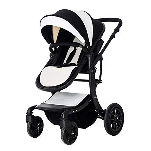 LYP Triciclo Bebé Trolley Trike Cochecito de bebé Multifuncional High Landscape Stroller Carrito Plegable Cochecito de bebé Cochecito recién Nacido (Color : #3)