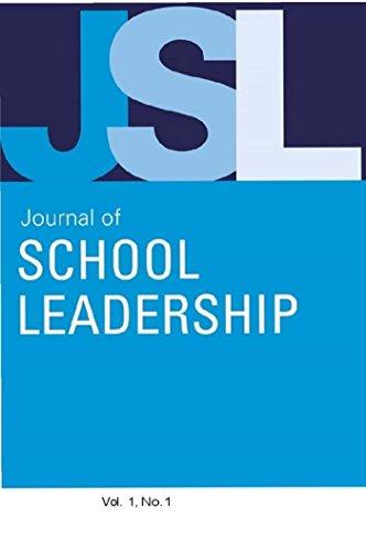 Jsl Vol 1-N1 (Journal of School Leadership) (English Edition)