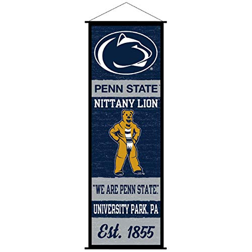 Penn State Nittany Lions Banner and Scroll Sign