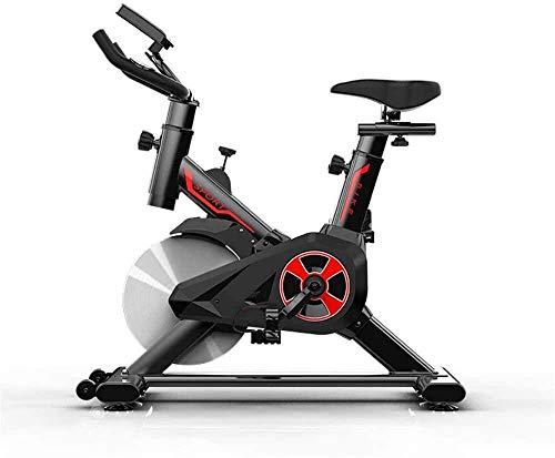 YLJYJ Bicicleta giratoria Bicicleta giratoria Bicicleta de Interior Ciclismo Transmisión por Correa Bicicleta estática Bicicletas de Ejercicio con Monitor LED Máquina de Ejercicio Cómodo