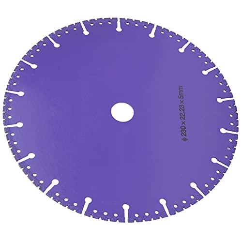 Hoja de sierra de diamante, excelente rendimiento y larga vida útil Hoja de sierra de diamante soldada para el hogar para la fábrica(230mm in diameter)