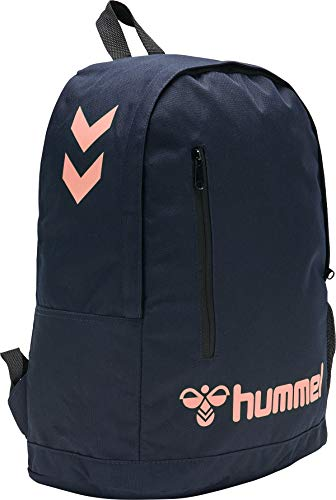Hummel Hmlaction Back Bag - marine/dusty pink
