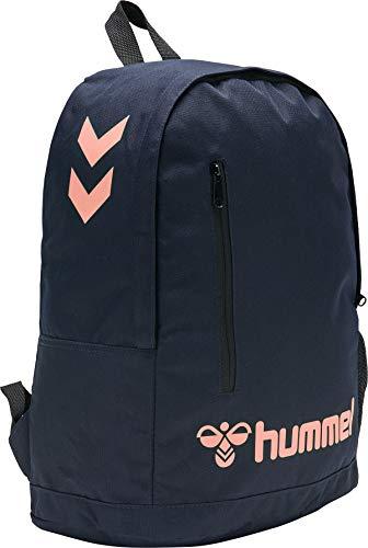 Hummel Hmlaction Back Bag - marine/dusty pink