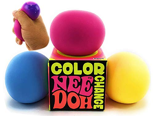 Nee-Doh Schylling Color Change Groovy Glob! Squishy