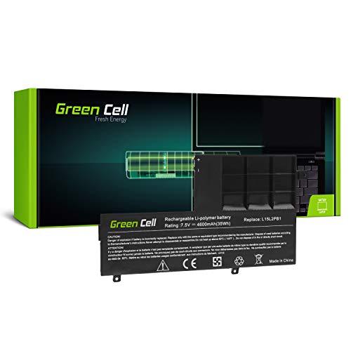 Green Cell Batería para Lenovo Yoga 510-14ISK 510-15IKB 510-15ISK Portátil (4600mAh 7.6V Negro)