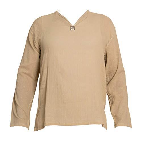 PANASIAM zomeroverhemd 'K' van aangenaam zachte, 100% puur natuurlijke katoen