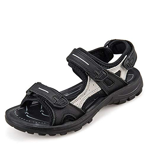 Lazzy Womens Athletic Outdoor Sandal Anti-Slip Sport Sandals for Women Water-Proof Hiking Walking Shoes Size 8