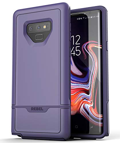 Encased Samsung Galaxy Note 9 Case Purple Rebel Armor Heavy Duty (Full Body) Protective Cover (2018 Release)