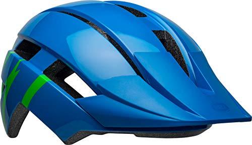 BELL Sidetrack Ii Helm, Strike Gloss Blue/Gr, Unisize 50-57CM