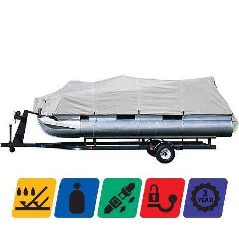 Check Out This TTSC Boat Cover for Lowe Roughneck JM200 2004 2005 2006 2007, Grey Color