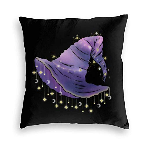 18' Imágenes Dobles Cojines Fundas Sencillas Pillowcase Dormitorio Gorra Bruja Espacial Funda Almohada Suave clásicas Cushion Cover
