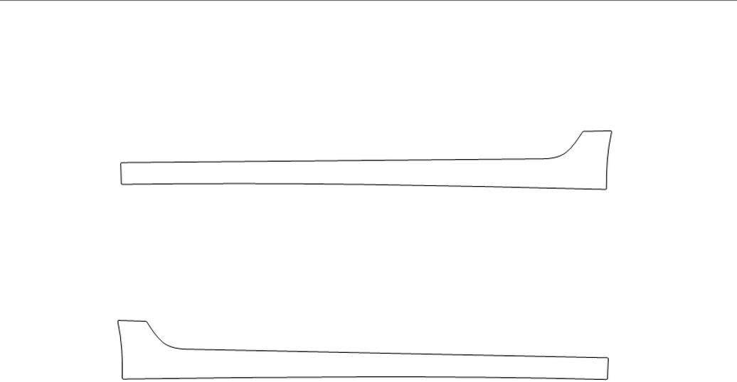 TRUE LINE Automotive Precut Door Chrome Viny Max 56% OFF Rocker Silver Max 42% OFF Guard