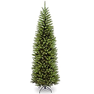 National Tree Company Artificial Christmas Tree Includes Stand, Kingswood Fir Slim-9 ft, 7 ft, 9 Ft