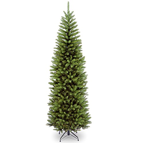 National Tree Company Artificial Christmas Tree Includes Stand, Kingswood Fir Slim - 7.5 ft, Green