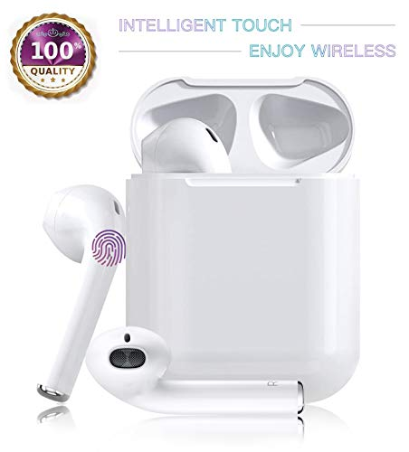 Wireless Earbuds Bluetooth Headphones with【24Hrs Charging Case】IPX5...