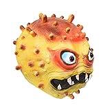 XIAOXIA Masque de virus Halloween en latex - Accessoire pédagogique - Jaune