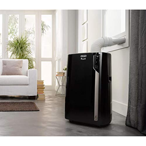 DeLonghi PACEL290HLWKC1A Pinguino Plus Powerful Portable Home Air Conditioner Unit (Renewed)