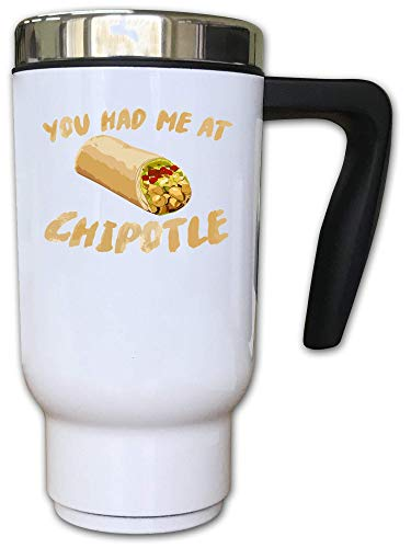 Iprints Mexican Burrito You Had Me at Thermal Tea Coffee Cup