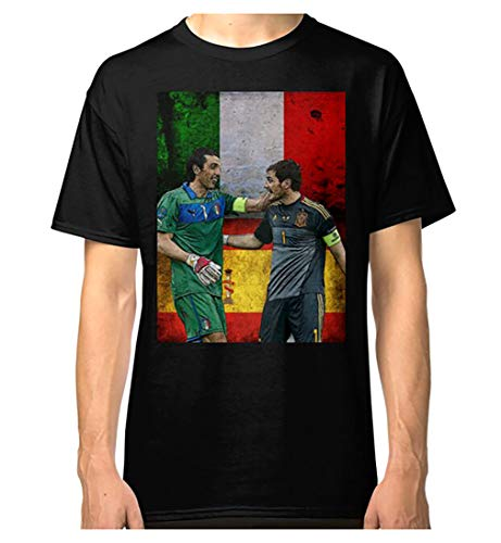 Iker Casillas y Gianluigi Buffon - Camiseta clásica
