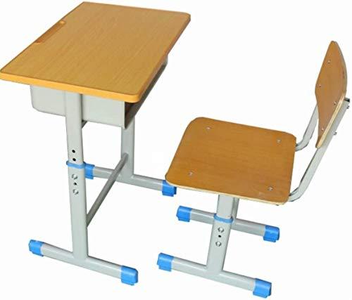 Silla de Oficina Estudio de Escritorio Juego de sillas de niños Kid Escritorio Juego de sillas de altura ajustable Study Desk escuela for niños mesa de trabajo Estación de cajón de almacenamiento