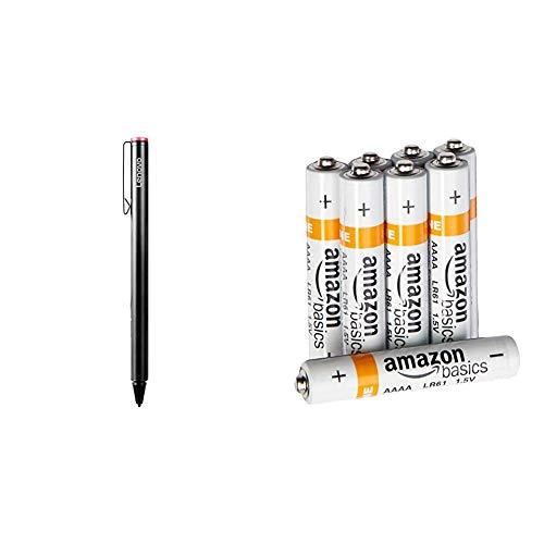 Lenovo GX80K32884 20g Schwarz Eingabestift - Eingabestifte (20 g, 9,5 mm, 140,6 mm) und Amazon Basics Batterien Alkali, AAAA, 8 Stck