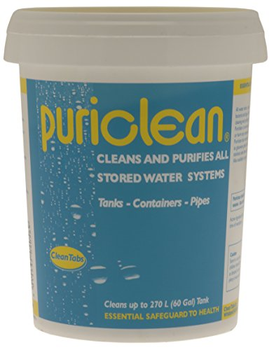 Clean Tabs 040569_SML Puri Water Cleaner and Purifier-Blue, 400 g
