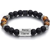 Kaululu Personalized Chakra Stone Bracelets for Men