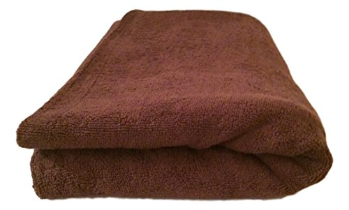 Massage-Handtuch, Spa, 90 x 200 cm, Schokoladenbraun